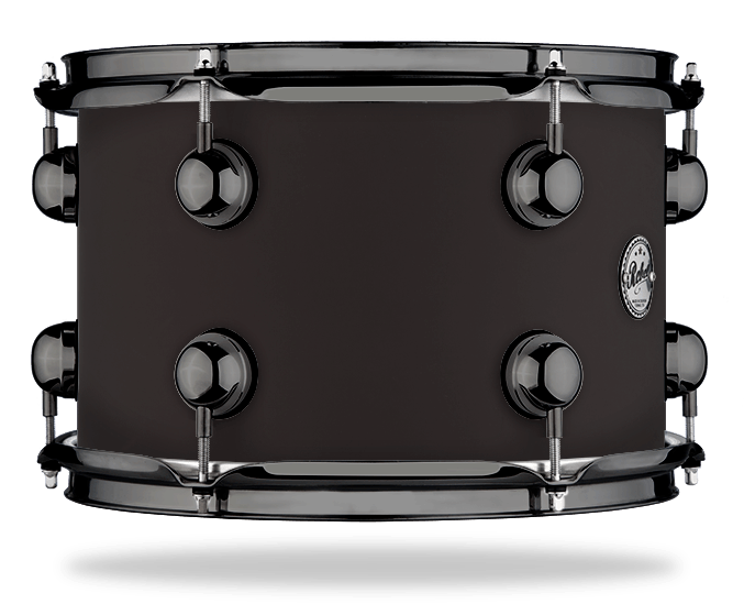 Black Soft Touch - Solid Satin - Hw Black Nickel
