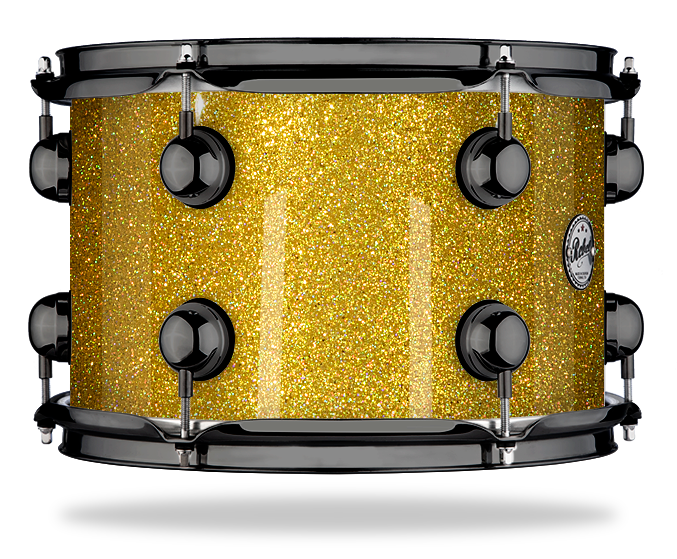 Holographic Gold Sparkle - Lacquer - Hw Black Nickel