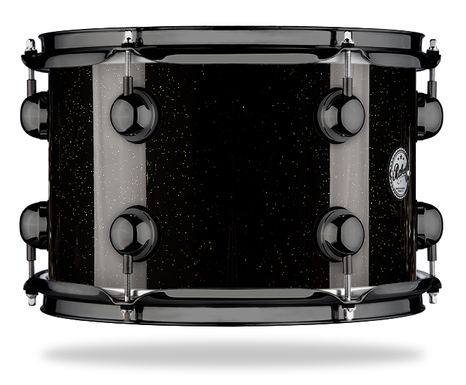 Holographic Gold Black Sparkle - Lacquer - Hw Black Nickel