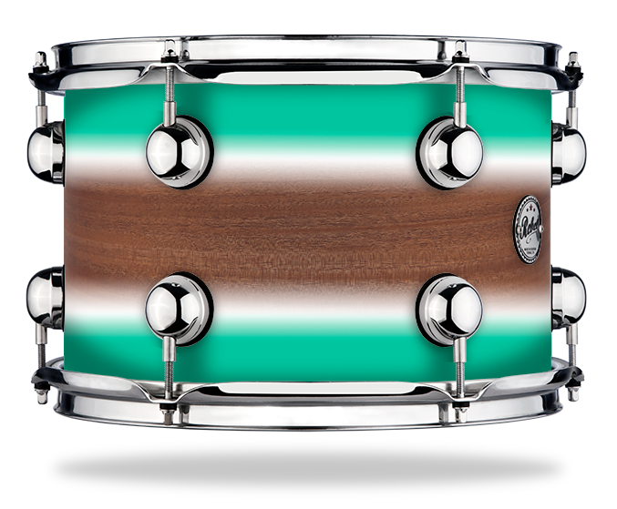 Surf Duco over Mahogany - Solid Satin - Hw Chrome