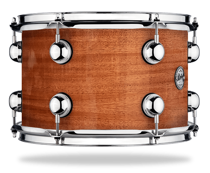 Natural Mahogany - Lacquer - Hw Chrome