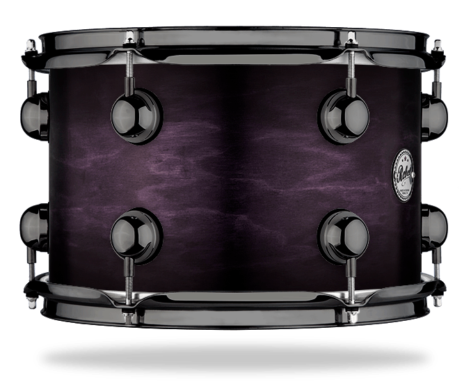 Black Burst over Plum - WBS Fade - Hw Black Nickel
