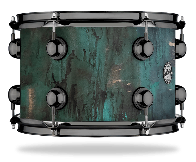 Rat Rod Green - Solid Satin - Hw Black Nickel