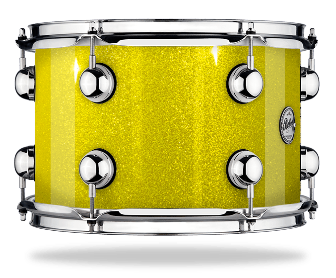 Yellow Sparkle - Lacquer - Hw Chrome