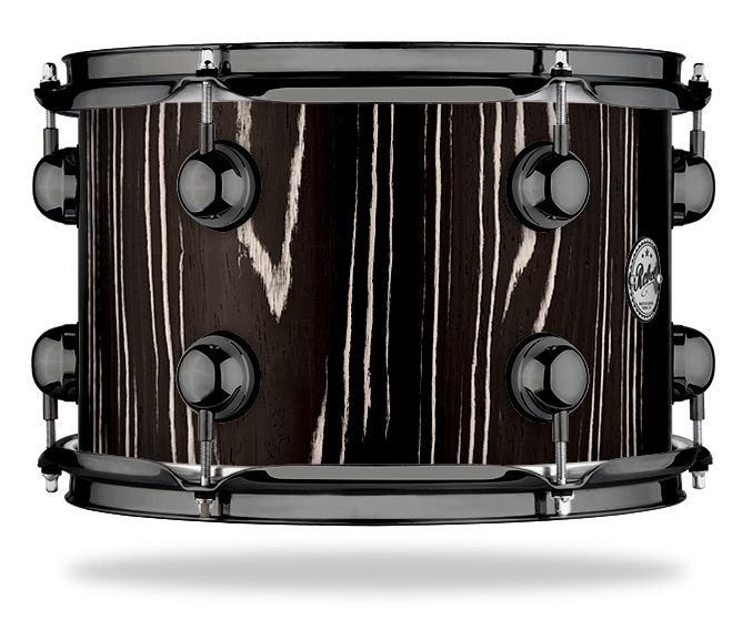 Black Zebra - Solid Satin - Hw Black Nickel